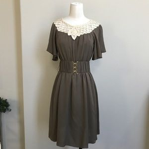 3.1 Phillip Lim Latrice weave neck silk dress 2